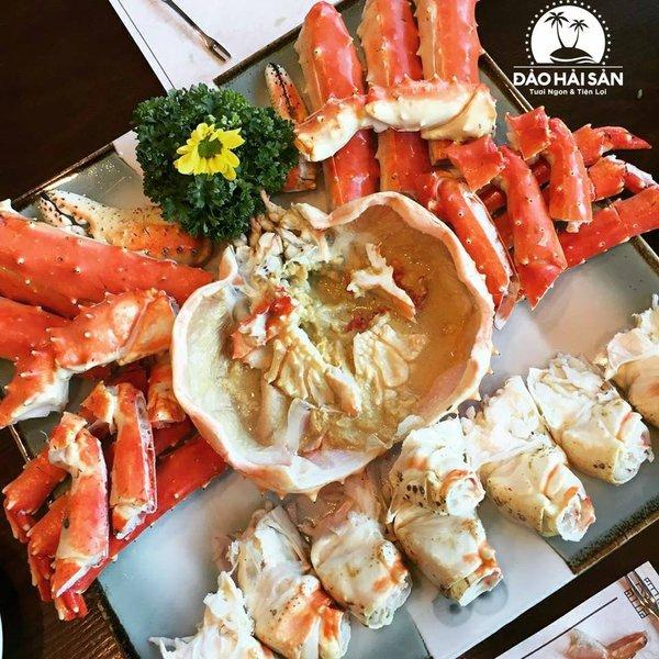 Cua King Crab Sống