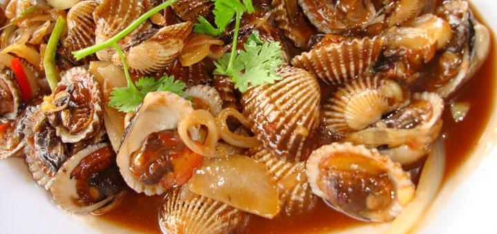 Các món ngon từ sò