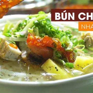 Cách nấu bún chả cá Nha Trang [NGON KHÓ CƯỠNG] làm tại nhà 2020
