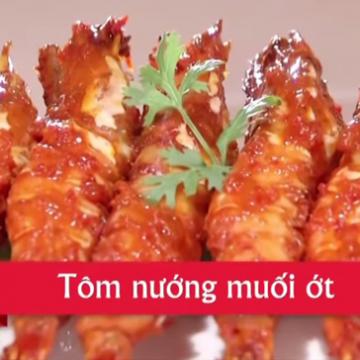 Cách làm tôm nướng muối ớt ngon đơn giản tại nhà
