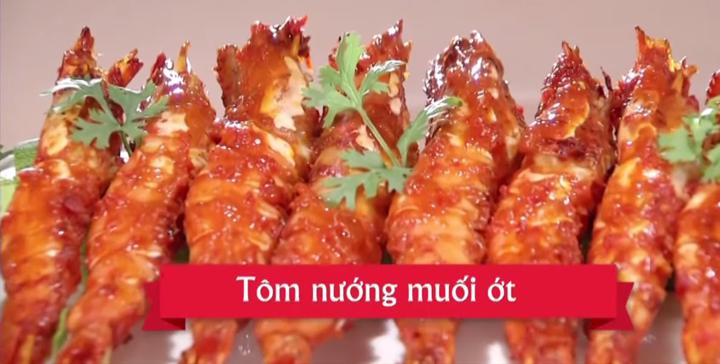 Cách làm tôm nướng muối ớt đơn giản tại nhà