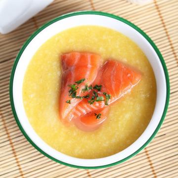 Cách nấu cháo cá hồi cho bé ngon dinh dưỡng đơn giản tại nhà