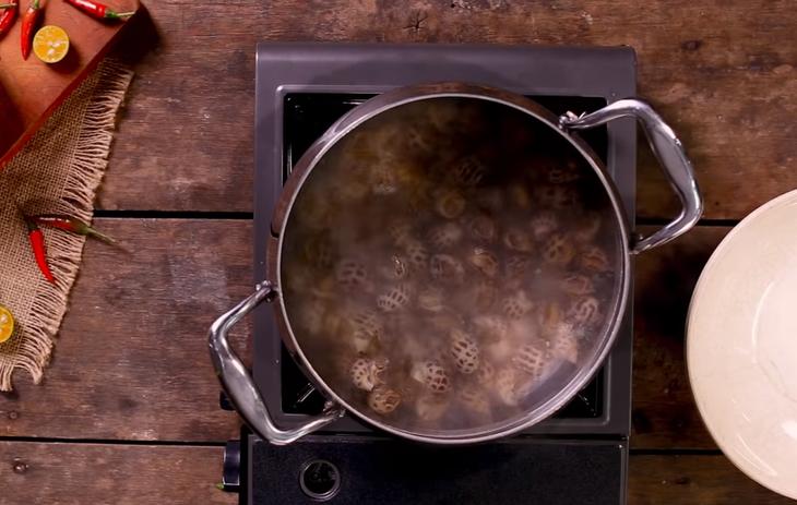 Món luộc ngon từ ốc hương