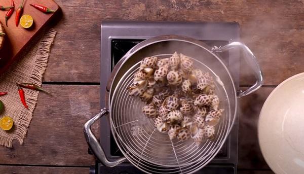 cách làm ốc hương nướng