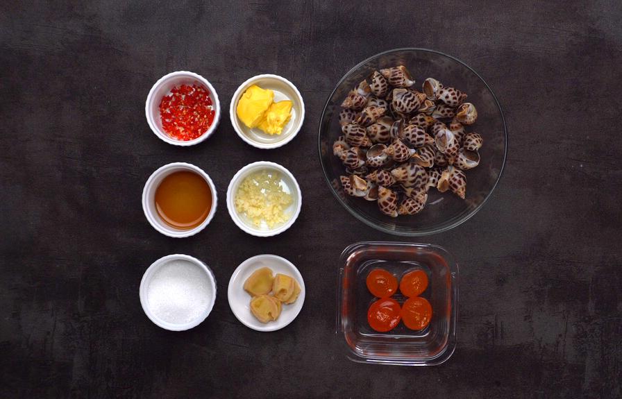 cách chế biến ốc hương nướng