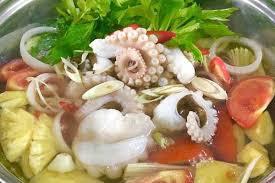 hướng dẫn cách làm bạch tuộc nhúng mẻ