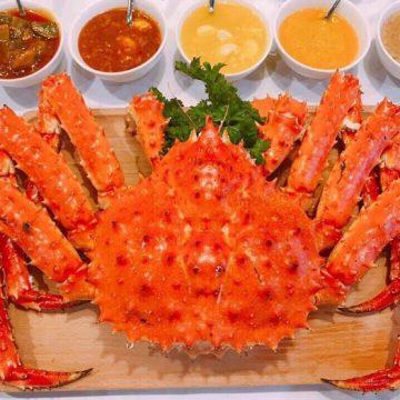 Cua King Crab làm món gì ngon