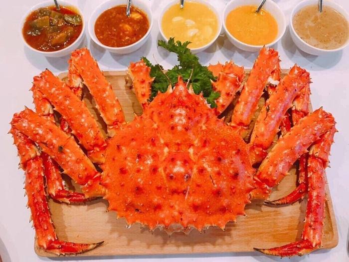 cua king crab làm gì ngon