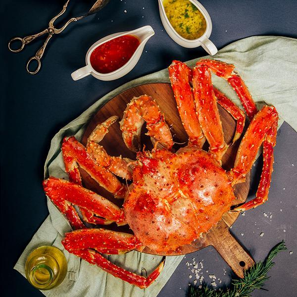 cua king crab lam mon gi ngon